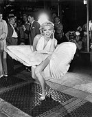 UNS: 15th September 1954 - Marilyn's Encounter With A NYC Subway Grate