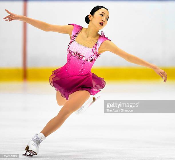 Marin Honda competes in the women's singles free program during day three of the 85th All Japan Figure Skating Junior Championships at Sapporo...