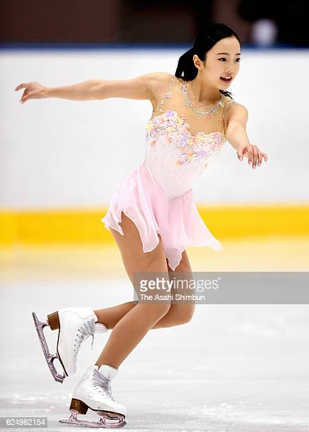 Marin Honda competes in the Women's Singles Short Program during day two of the 85th All Japan Figure Skating Junior Championships at Sapporo...