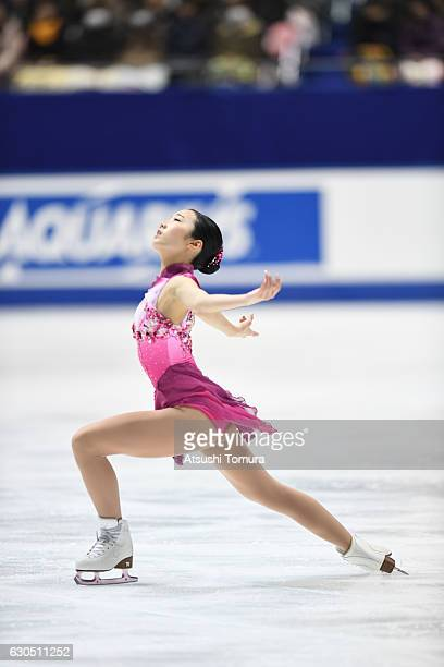 Marin Honda of Japan competes in the Ladies free skating during the Japan Figure Skating Championships 2016 on December 25 2016 in Kadoma Japan