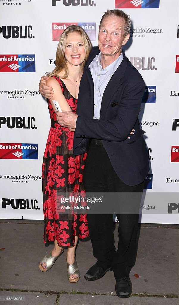 <a gi-track='captionPersonalityLinkClicked' href=/galleries/search?phrase=Marin+Ireland&family=editorial&specificpeople=4266013 ng-click='$event.stopPropagation()'>Marin Ireland</a> and <a gi-track='captionPersonalityLinkClicked' href=/galleries/search?phrase=Bill+Irwin&family=editorial&specificpeople=213628 ng-click='$event.stopPropagation()'>Bill Irwin</a> attend the The Public Theatre's Opening Night Performance of 'King Lear' at the Delacorte Theatre on August 5, 2014 in New York City.