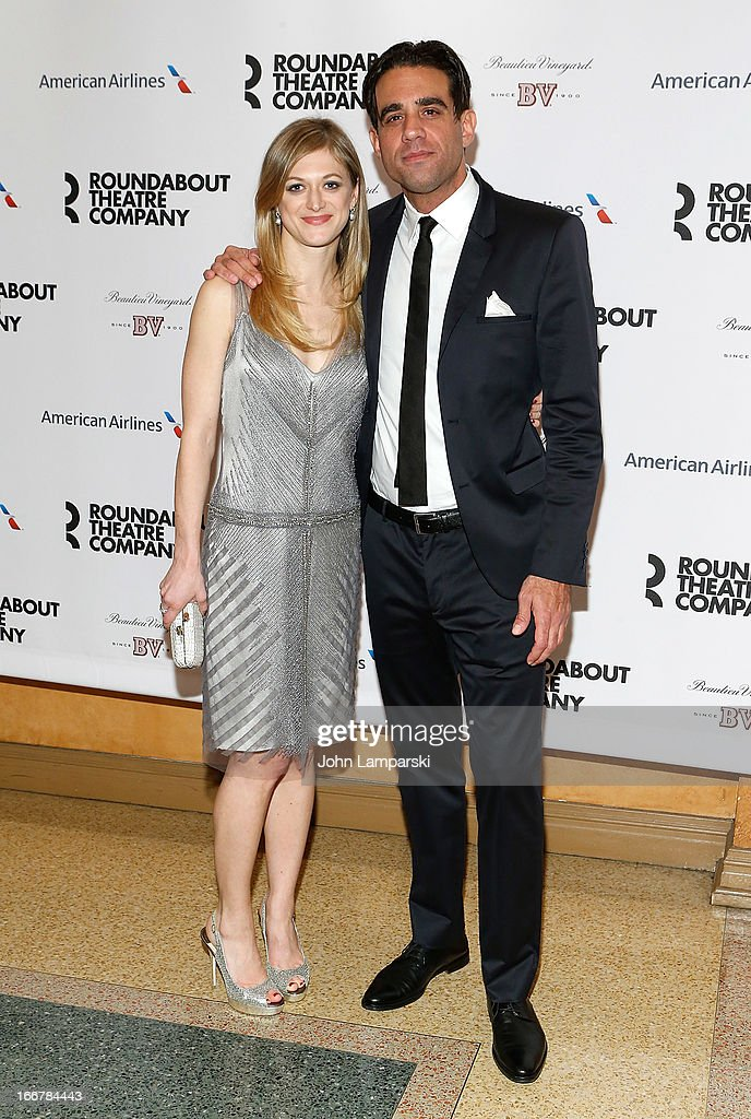 <a gi-track='captionPersonalityLinkClicked' href=/galleries/search?phrase=Marin+Ireland&family=editorial&specificpeople=4266013 ng-click='$event.stopPropagation()'>Marin Ireland</a> and <a gi-track='captionPersonalityLinkClicked' href=/galleries/search?phrase=Bobby+Cannavale&family=editorial&specificpeople=211166 ng-click='$event.stopPropagation()'>Bobby Cannavale</a> attend 'The Big Knife' Broadway opening night after party at American Airlines Theatre on April 16, 2013 in New York City.