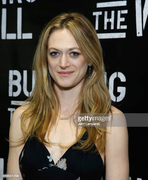 Marin Ireland attends 'Building The Wall' opening night at New World Stages on May 21 2017 in New York City