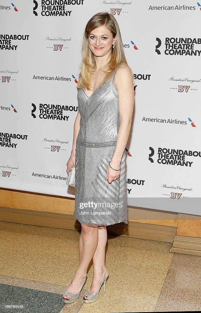 Marin Ireland attends 'The Big Knife' Broadway opening night after party at American Airlines Theatre on April 16, 2013 in New York City.