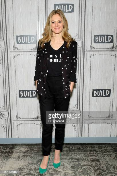 Marin Ireland attends the Build Series to discuss 'On the Exhale' at Build Studio on March 24 2017 in New York City