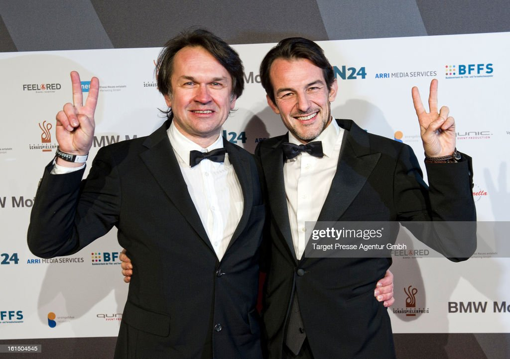 Marin May and Hans-Werner Meyer attends lending out of the 'Deutscher Schauspielerpreis' at Rennaisance Theater during the 63rd Berlinale International Film Festivalon February 11, 2013 in Berlin, Germany.