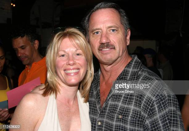 Marin Mazzie of 'Man of LaMancha' and Tom Wopat of '42nd Street'