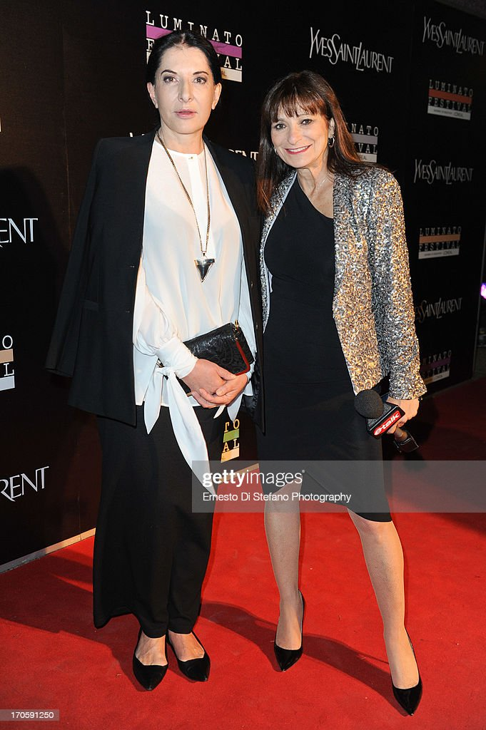 <a gi-track='captionPersonalityLinkClicked' href=/galleries/search?phrase=Marina+Abramovic&family=editorial&specificpeople=2315598 ng-click='$event.stopPropagation()'>Marina Abramovic</a> and Jeanne Beker attend 'Luminato' Toronto Opening Night at Brookfield Place on June 14, 2013 in Toronto, Canada.