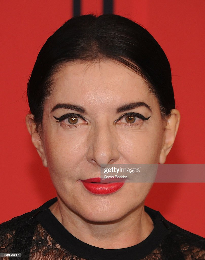 Marina Abramovic attends 2013 CFDA FASHION AWARDS Underwritten By Swarovski - Red Carpet Arrivals at Lincoln Center on June 3, 2013 in New York City.