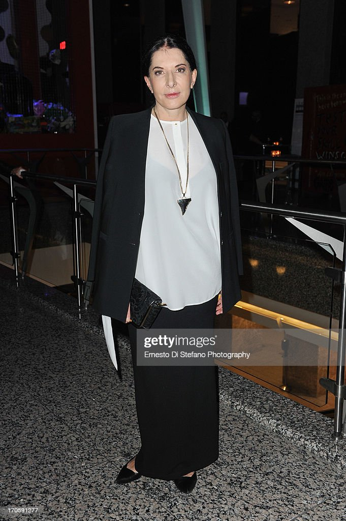 <a gi-track='captionPersonalityLinkClicked' href=/galleries/search?phrase=Marina+Abramovic&family=editorial&specificpeople=2315598 ng-click='$event.stopPropagation()'>Marina Abramovic</a> attends 'Luminato' Toronto Opening Night at Brookfield Place on June 14, 2013 in Toronto, Canada.