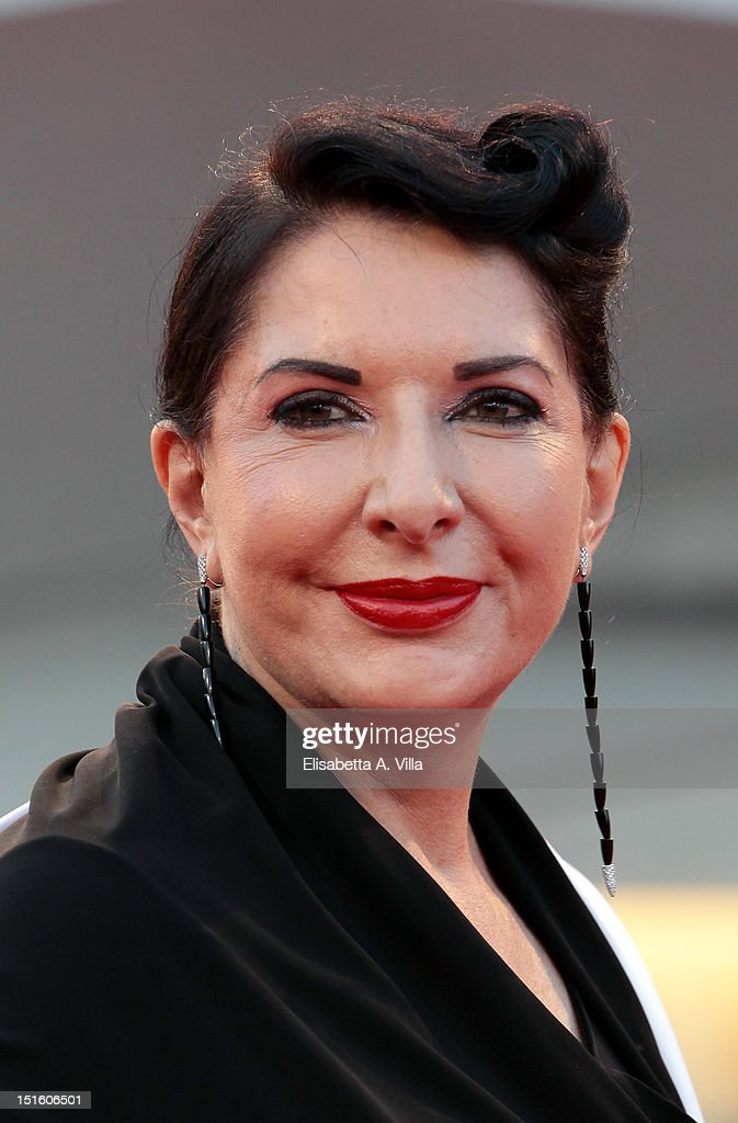 Marina Abramovic attends the Award Ceremony during the 69th Venice Film Festival at the Palazzo del Cinema on September 8, 2012 in Venice, Italy.