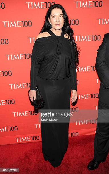 Marina Abramovic attends the TIME 100 Gala TIME's 100 most influential people in the world at Jazz at Lincoln Center on April 29 2014 in New York City