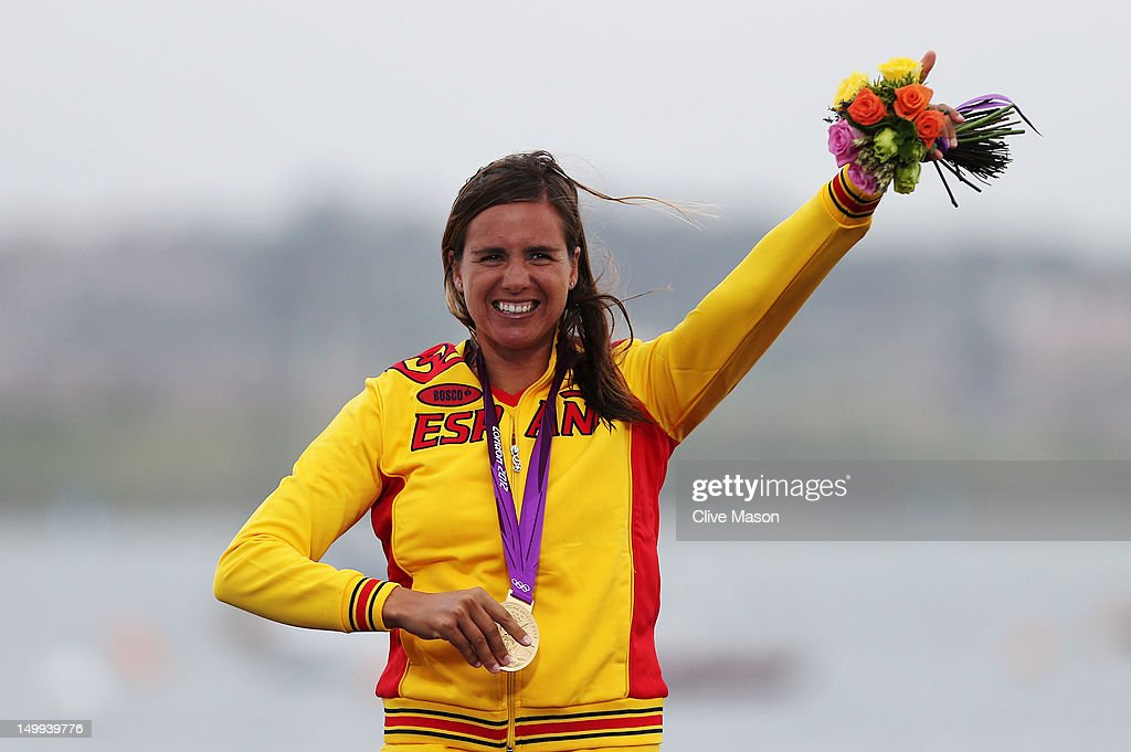 <a gi-track='captionPersonalityLinkClicked' href=/galleries/search?phrase=Marina+Alabau&family=editorial&specificpeople=5487042 ng-click='$event.stopPropagation()'>Marina Alabau</a> Neira of Spain celebrates winning the gold medal in the