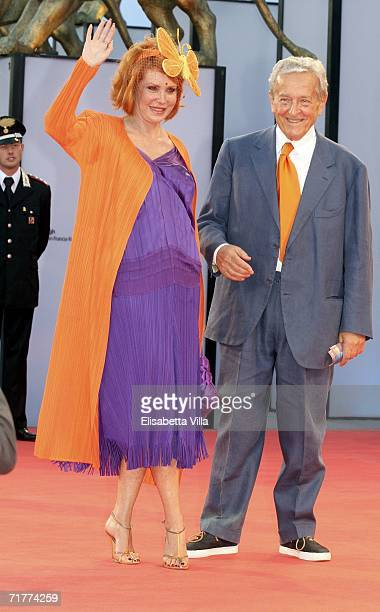 Marina and Carlo Ripa di Meana attend the premiere of the film 'The Queen' during the fourth day of the 63rd Venice Film Festival on September 2 2006...