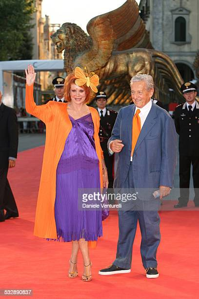 Marina and Carlo Ripa di Meana during The 63rd International Venice Film Festival 'The Queen' Premiere Arrivals at Palazzo Del Cinema in Venice Lido...