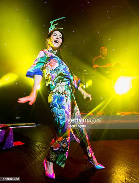Marina And The Diamonds performs during the 'FROOT' Tour at The Fillmore on June 2 2015 in Detroit Michigan