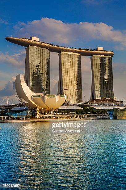 Marina Bay Sands Hotel and ArtScience Museum
