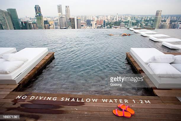 Marina Bay Sands hotel Singapore Singapore
