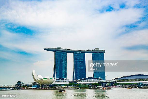 Marina Bay Sands Resort Casino and Hotel in Singapore