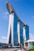 Marina Bay Sands towers and scypark