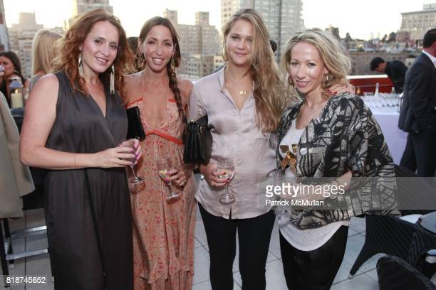 Marina Bejarano Ronny Kobo Esti Ginzburg and Marissa Zeman attend SHEBA INTERNATIONAL LEADERSHIP COUNCIL Celebrates SHEBA MEDICAL CENTER at Private...