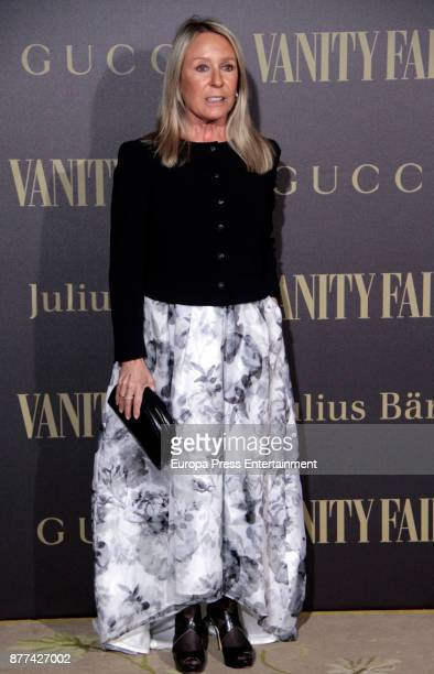 Marina Castano attends the gala 'Vanity Fair Personality of the Year' to Garbine Muguruza at Ritz Hotel on November 21 2017 in Madrid Spain