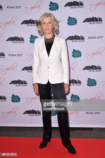 Marina Cicogna attends AMBI GALA In Honour Of Andy Garcia And Bobby Moresco on March 23 2017 in Rome Italy