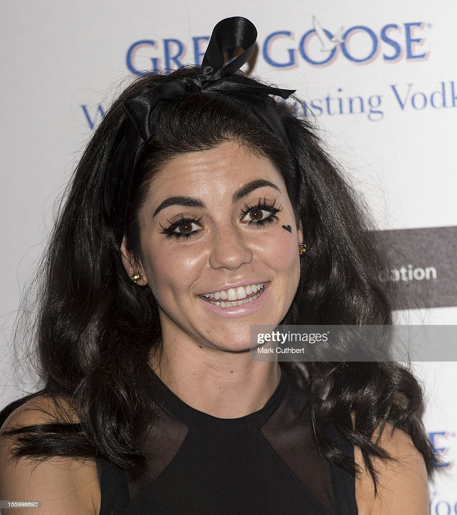 Marina Diamandas attends the Grey Goose Winter Ball at Battersea Power station on November 10, 2012 in London, England.