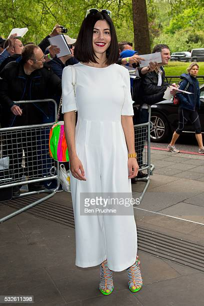 Marina Diamandis attends the Ivor Novello Awards at Grosvenor House on May 19 2016 in London England