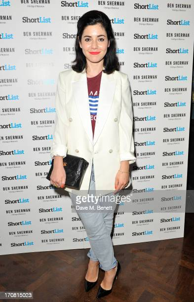 Marina Diamandis attends the London Collections Men ShortList Ben Sherman Party at Sketch on June 18 2013 in London England