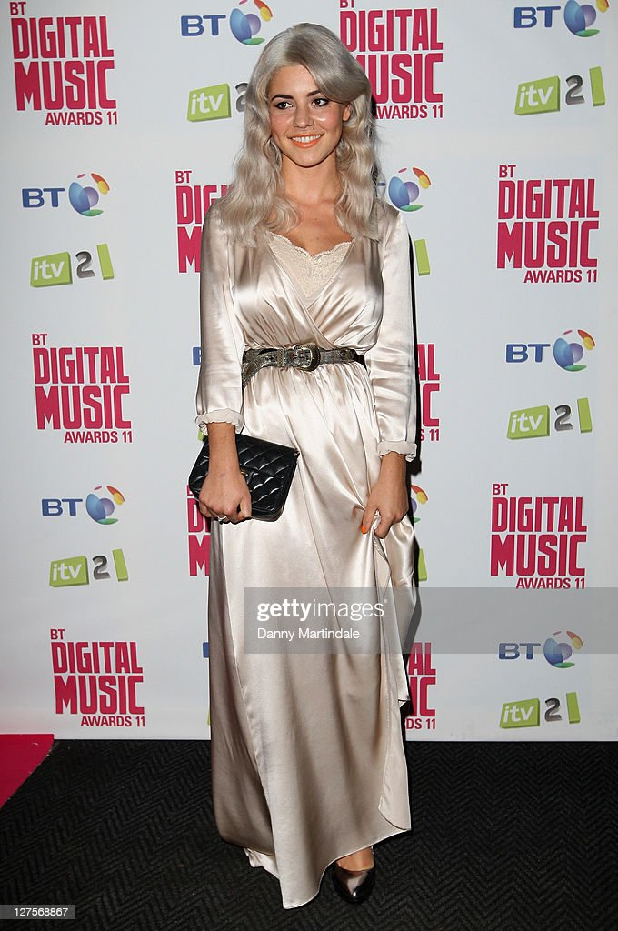 Marina Diamandis from the Marina and the Diamonds attends BT Digital Music Awards at The Roundhouse on September 29, 2011 in London, England.