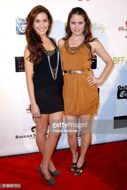 Marina Edwards and Natalia Flores attend OFFICIAL Film WRAPPARTY for Stardust Pictures BFF Baby at The Colony on November 17 2010 in Hollywood...