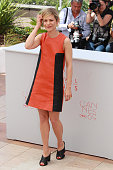 Marina Fois attends 'Percile Il Nero' Photocall during The 69th Annual Cannes Film Festival on May 19 2016 in Cannes