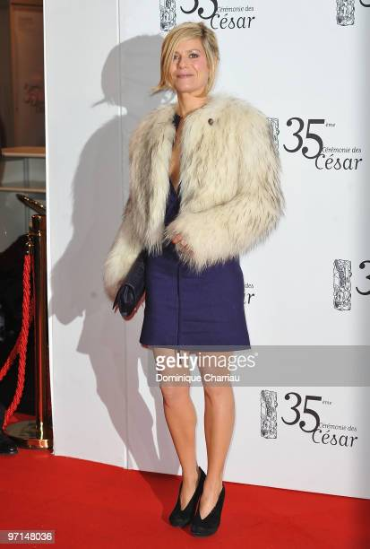 Marina Fois attends the 35th Cesar Film Awards at Theatre du Chatelet on February 27 2010 in Paris France