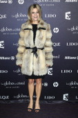 Marina Fois attends the Globes de Cristal ceremony at Le Lido on February 6 2012 in Paris France