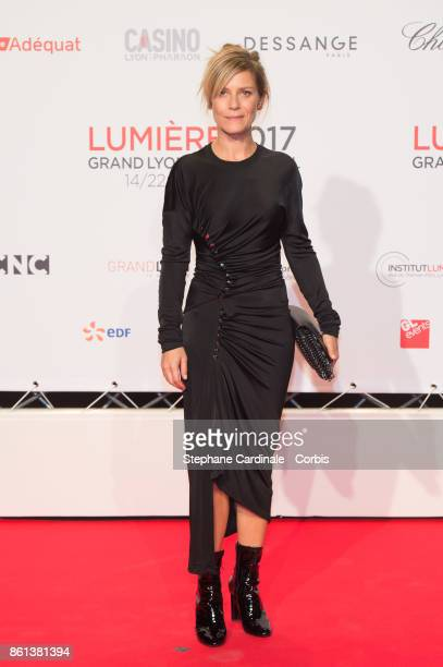 Marina Fois attends the Opening Ceremony of the 9th Film Festival Lumiere on October 14 2017 in Lyon France