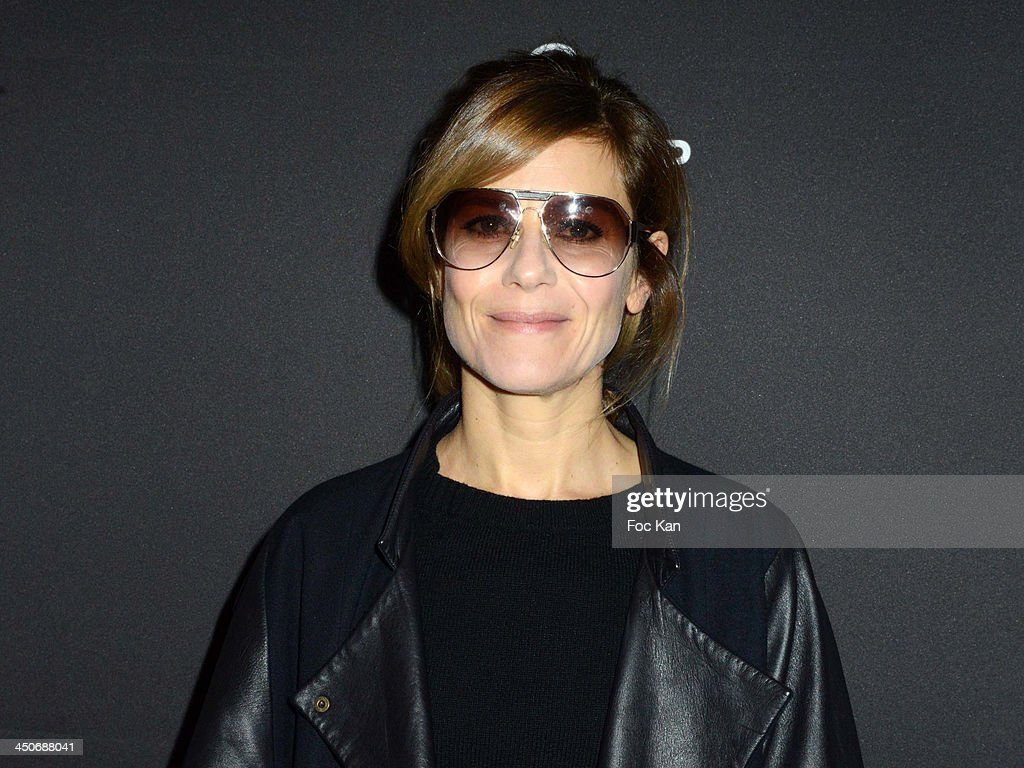 Marina Fois attends the Sushi Shop Launches New Menu By Joel Robuchon At Le Mini Palais - Photo Call on November 19, 2013 in Paris, France.