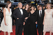 Marina Hands Alain Delon and Aurelie Filippetti at the Closing Ceremony and the premiere for 'Therese Desqueyroux' during the 65th Cannes...
