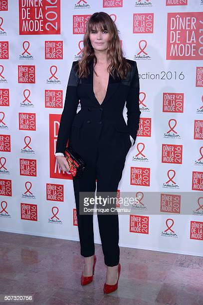 Marina Hands attends the Sidaction Gala Dinner 2016 as part of Paris Fashion Week on January 28 2016 in Paris France
