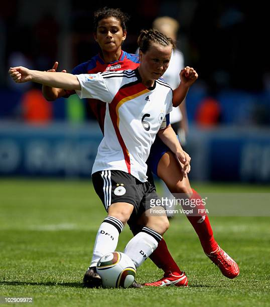 Marina Hegering of Germany in action during the FIFA U20 Women's World Cup Group A match between Germany and Costa Rica at the FIFA U20 Women's Worl...