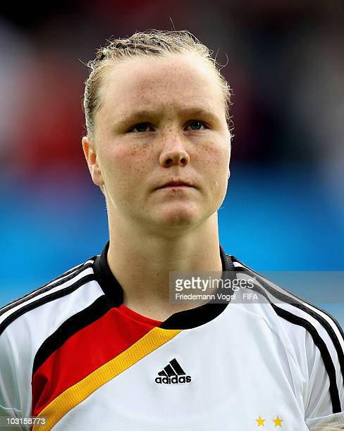 Marina Hegering of Germany poses during the FIFA U20 Women's World Cup Semi Final match between Germany and South Korea at the FIFA U20 Women's World...