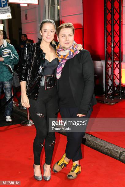 Marina Hoermanseder and Dawid Tomaszewski arrive at the New Faces Award Style 2017 on November 15 2017 in Berlin Germany