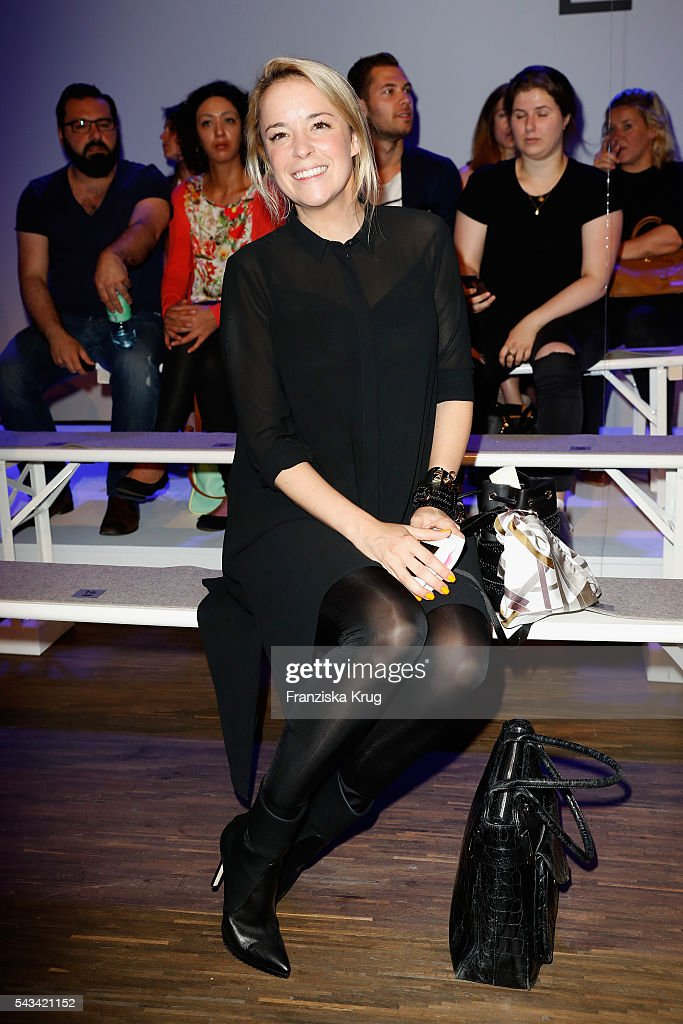 Marina Hoermanseder attends the Dawid Tomaszewski show during the Mercedes-Benz Fashion Week Berlin Spring/Summer 2017 at Stage at me Collectors Room on June 28, 2016 in Berlin, Germany.