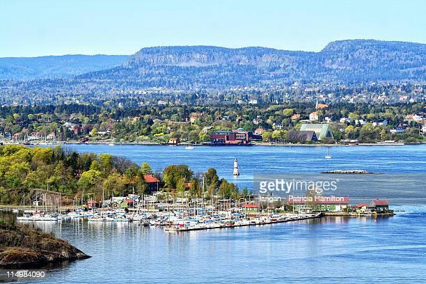 Marina in Oslo fjord