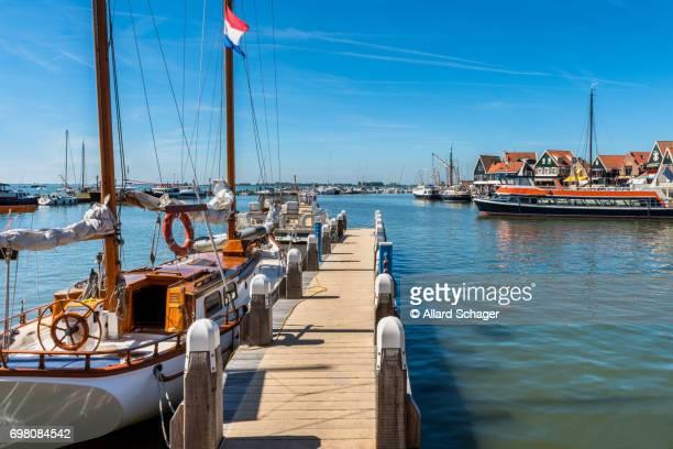 Marina in Volendam Netherlands