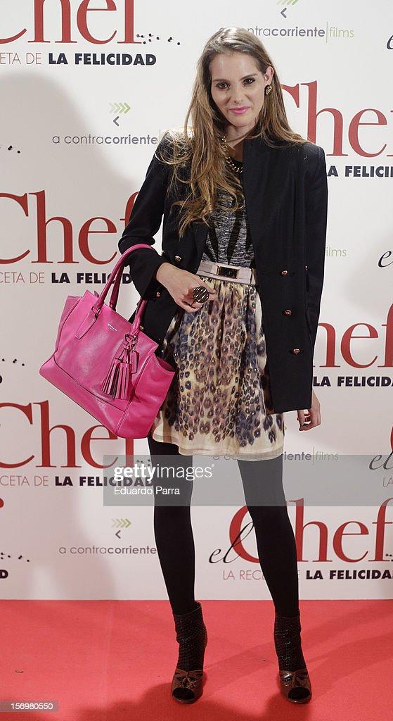 Marina Jamieson attends 'El chef, la receta de la felicidad' ('Comme un chef') premiere photocall at Palafox cinema on November 26, 2012 in Madrid, Spain.
