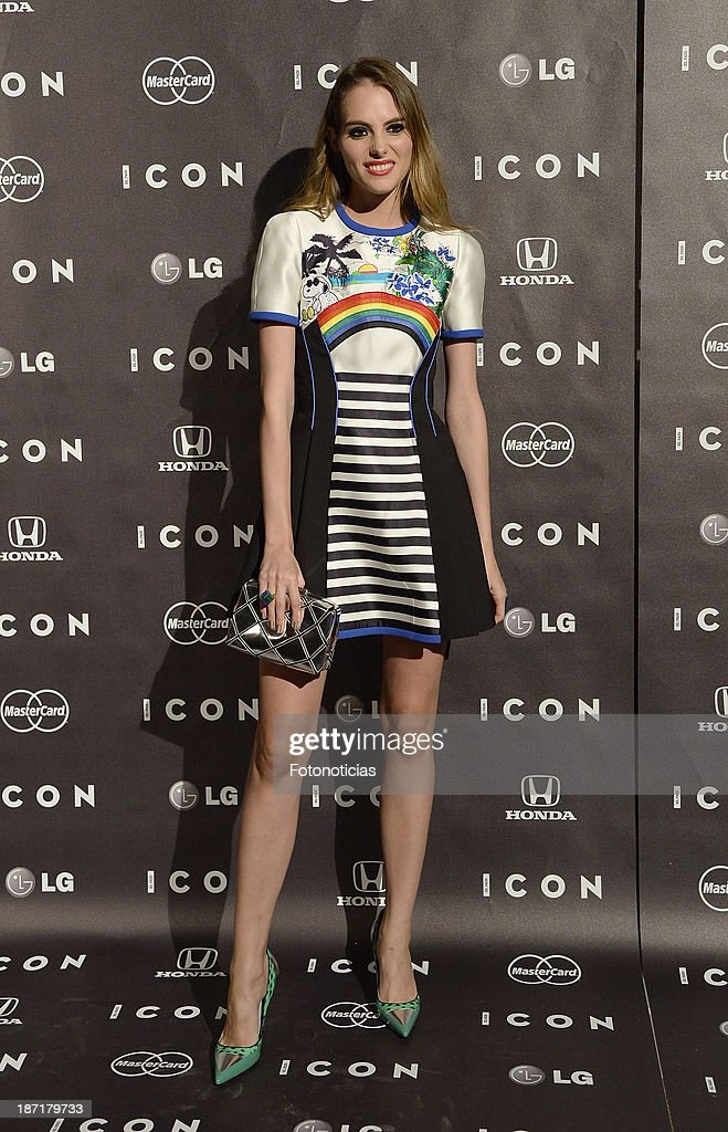 Marina Jamieson attends 'Icon' magazine launch party at the Circulo de Bellas Artes on November 6, 2013 in Madrid, Spain.