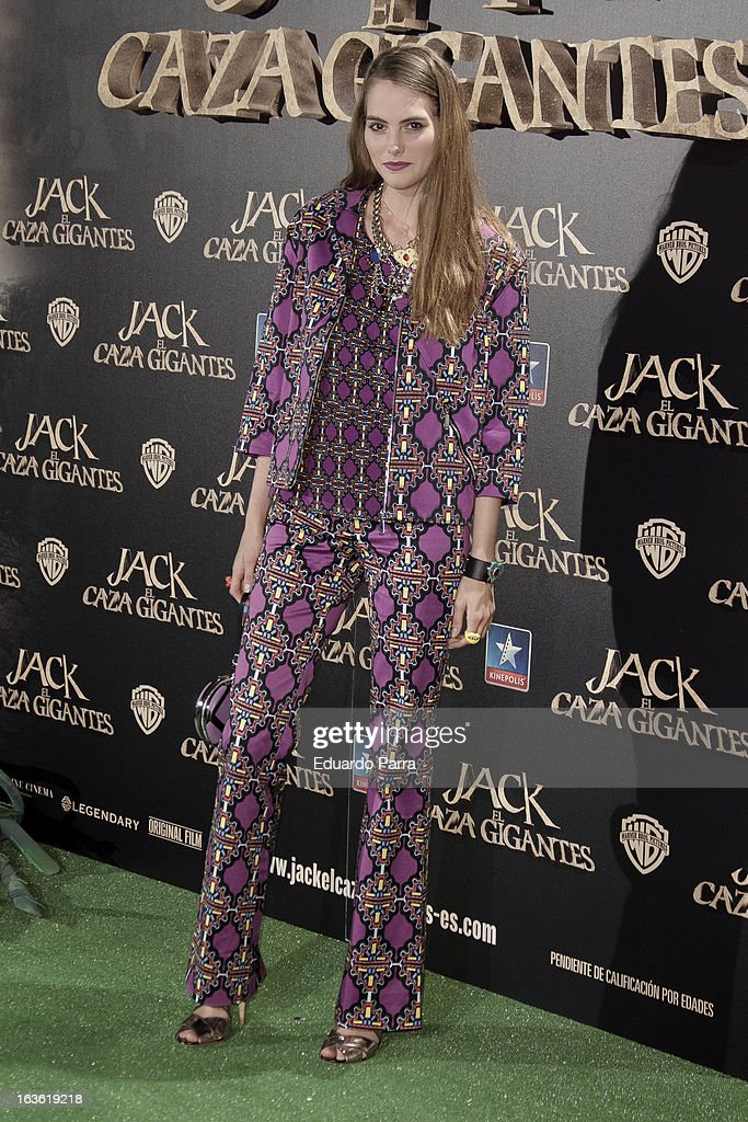 Marina Jamieson attends 'Jack el Caza Gigantes' premiere photocall at Kinepolis cinema on March 13, 2013 in Madrid, Spain.