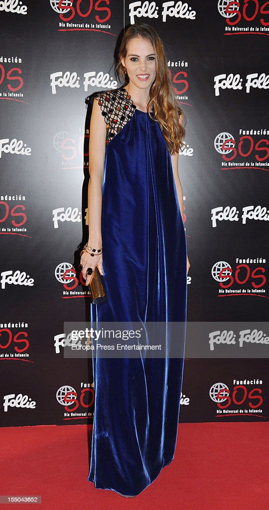 Marina Jamieson attends the 'Folli Follie' campaign launch on October 30, 2012 in Madrid, Spain.