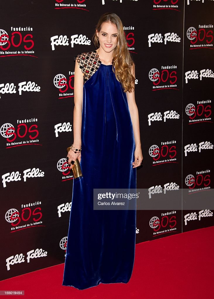 Marina Jamieson attends the 'Folli Follie' campaing launch at Casino de Madrid on October 30, 2012 in Madrid, Spain.